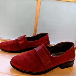 ec5d6cca427 Naot Shoes - Naot Wind Red Suede Loafers EU 41 US 9.5-10